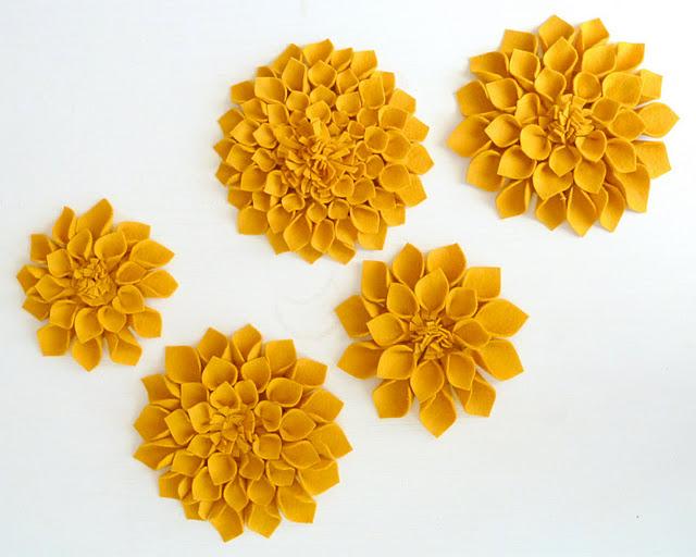 {идея} Цветы из ткани (2)