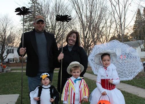 Семейные костюмы на Хэллоуин. ТОП 30