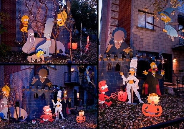 Украшение дома на Хэллоуин. ТОП 20