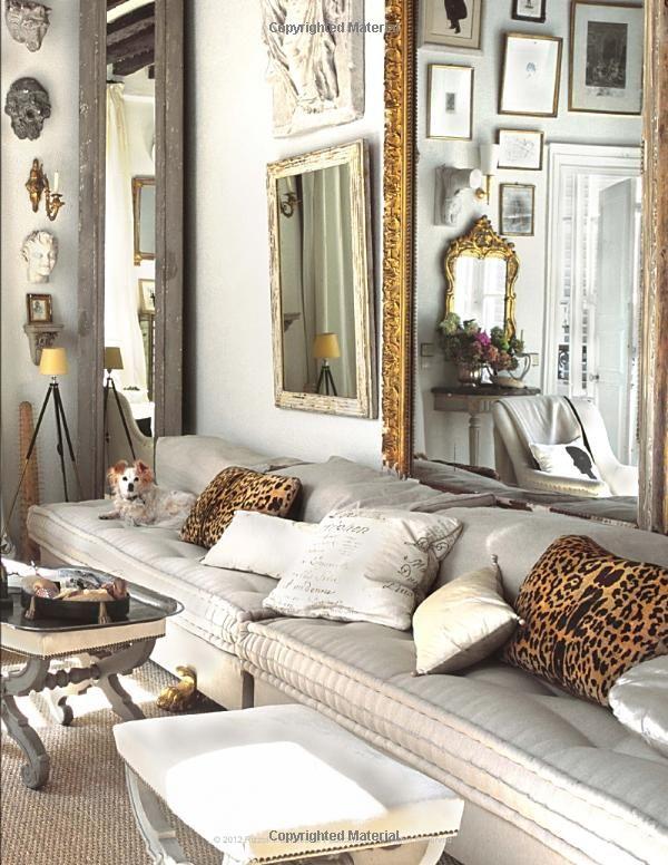 Декор стен с помощью зеркал