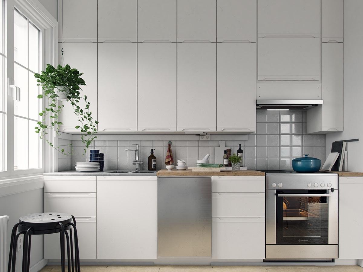 ТОП 40. Скандинавские кухни. Идеи и вдохновение