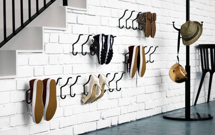 15 Умных решений хранения обуви в интерьере