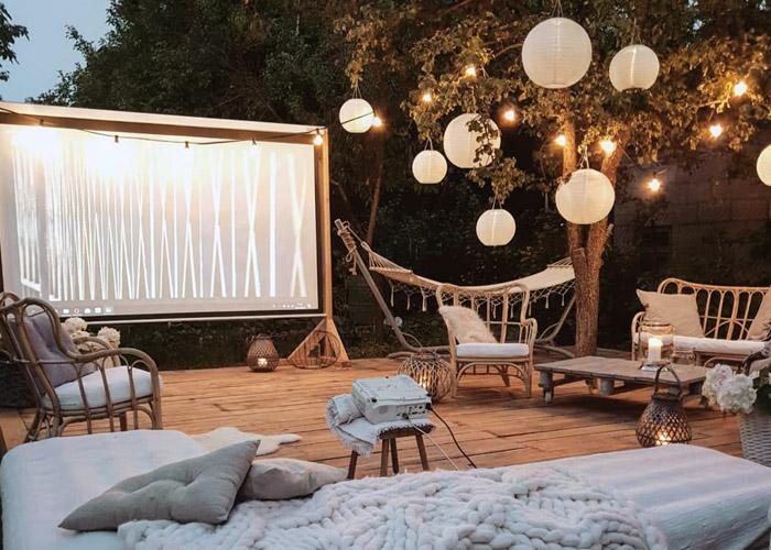 6 Советов для создания идеального кинотеатра на заднем дворе