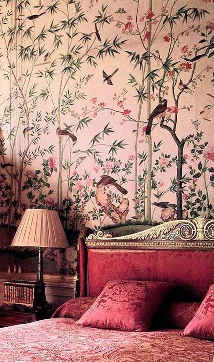 45 Совершенных идей использования обоев на акцентной стене в спальне