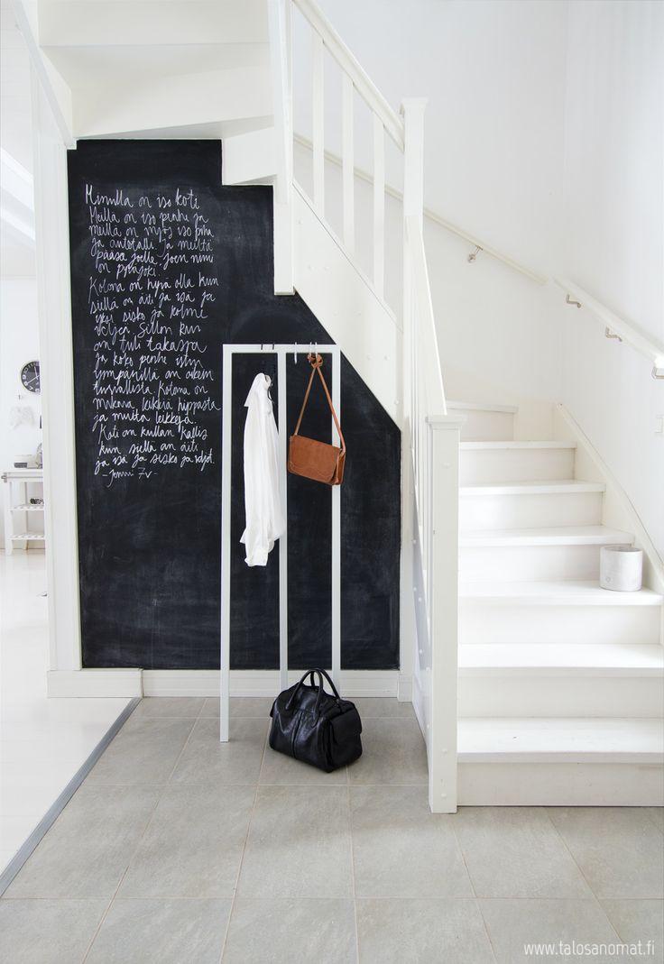 Меловая доска в интерьере. 32 Идеи