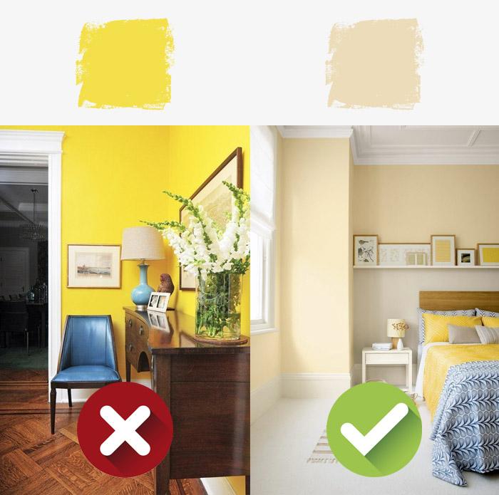 6 цветов, которые не стоит применять в маленьком пространстве