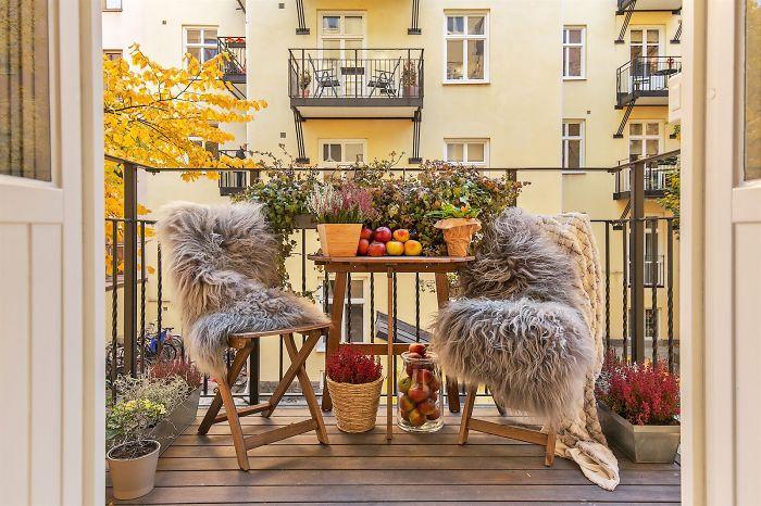 50 Уютных балконов, на которых хочется поселиться