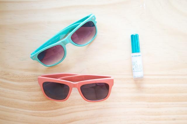 Декор солнцезащитных очков