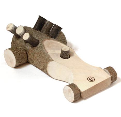 Деревянный ретро-игрушки