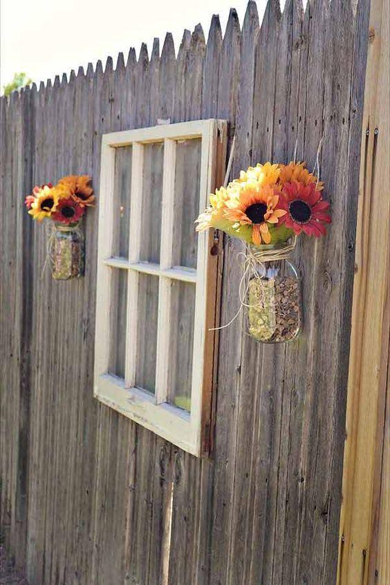 20 Примеров для украшения забора в саду