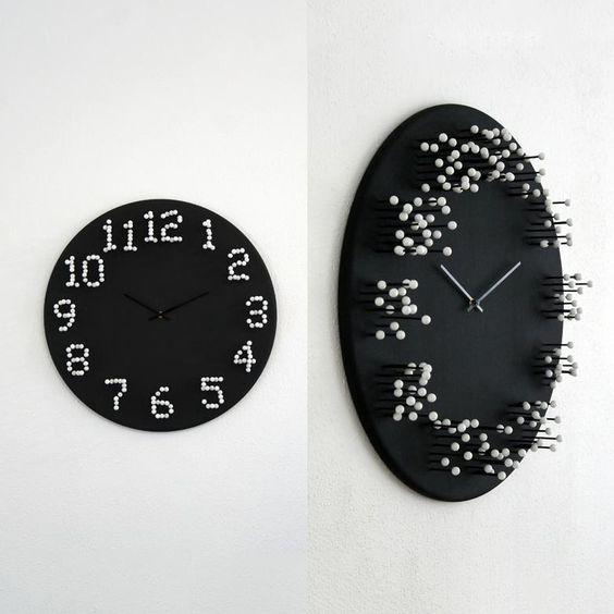 Как сделать настенные часы