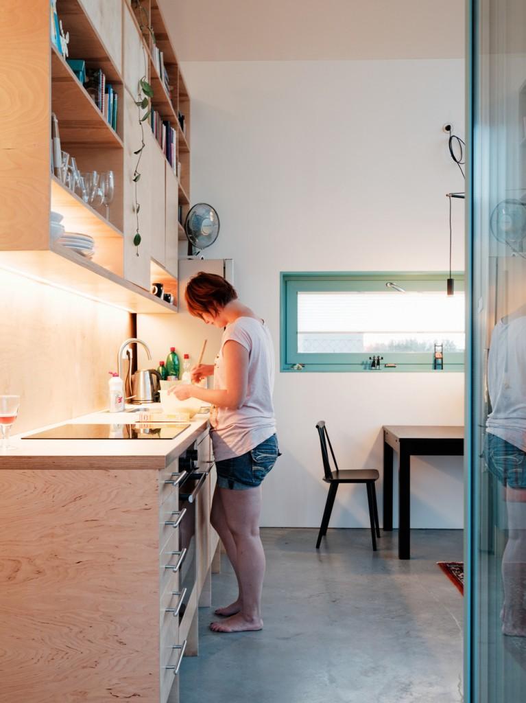 Простой и современный дом в Словакии. 18 Фото