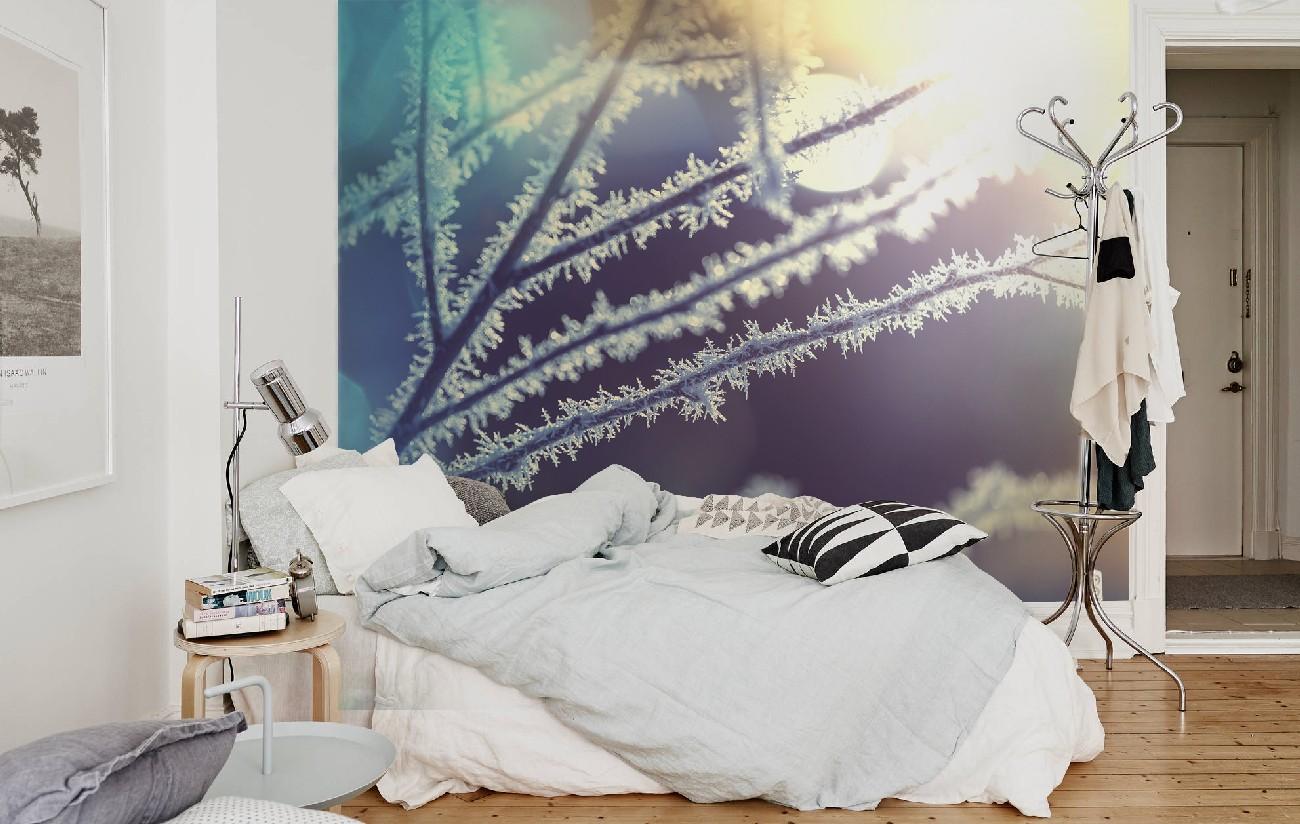 Вдохновляющая подборка фотообоев с зимним мотивом. ТОП 14