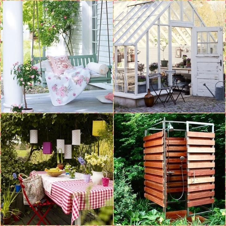 30 Идей мебели для сада и дачи