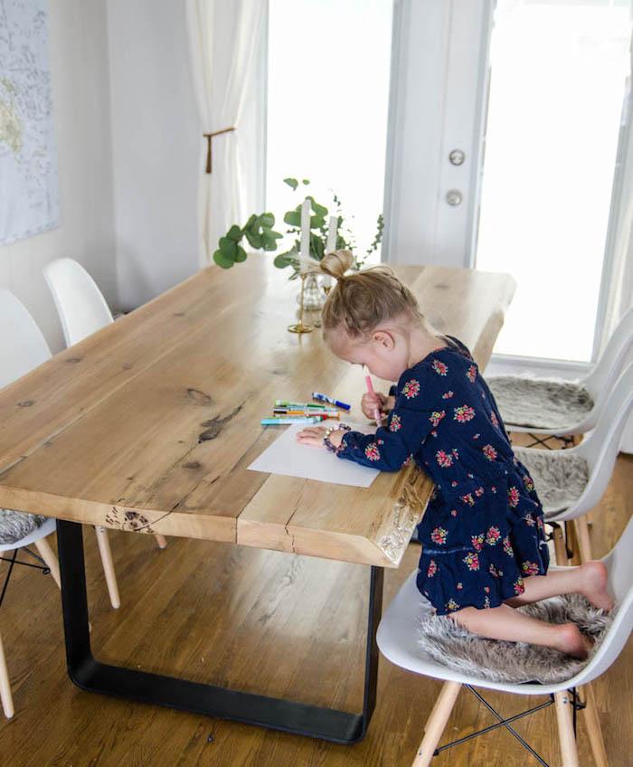 Как сделать большой обеденный стол