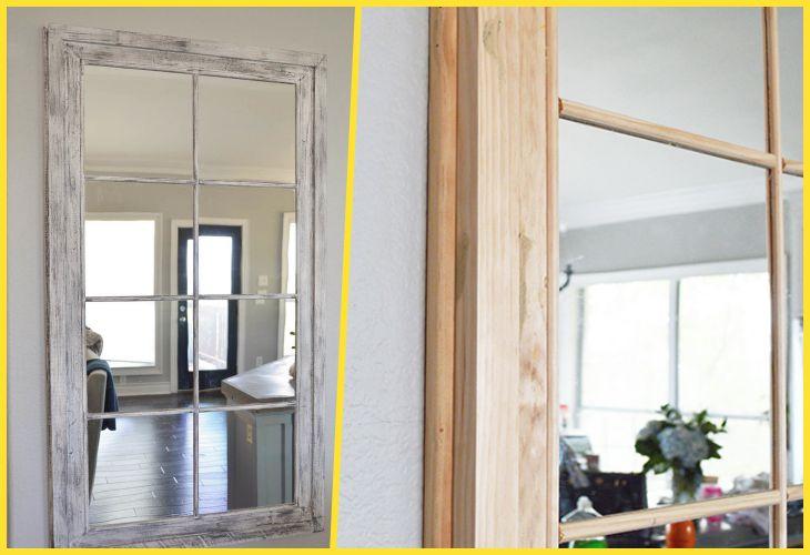 12 Простых способов создать уникальное зеркало