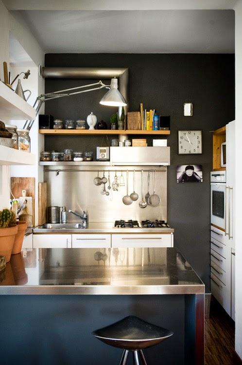Компактные кухни. 20 Идей