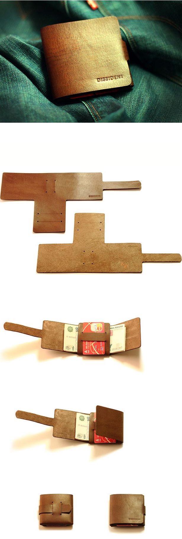 Как сделать бумажник из кожи. ТОП 5 Идей