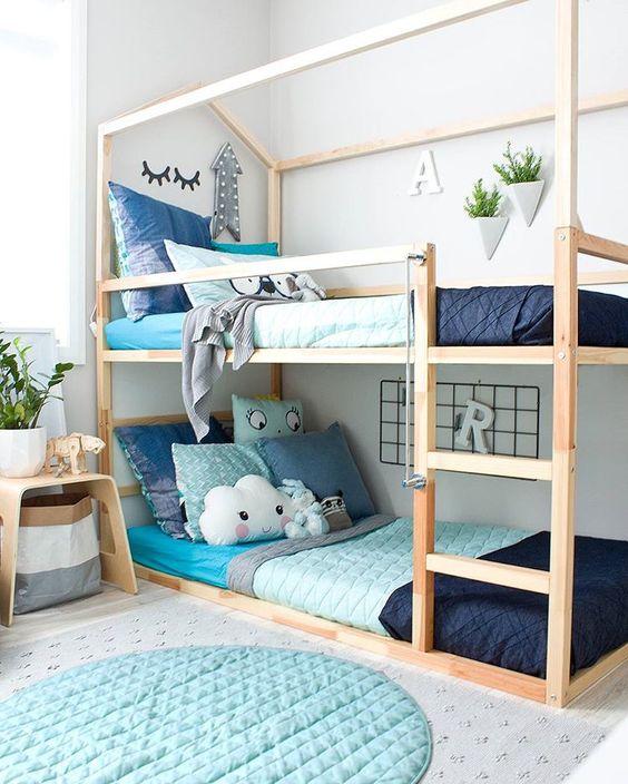 50 Крутых вариантов декора детской кровати IKEA Kura