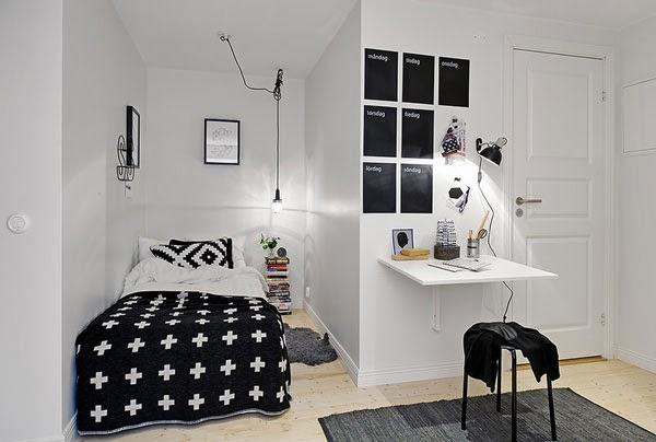 Небольшие спальные комнаты. 24 Идеи