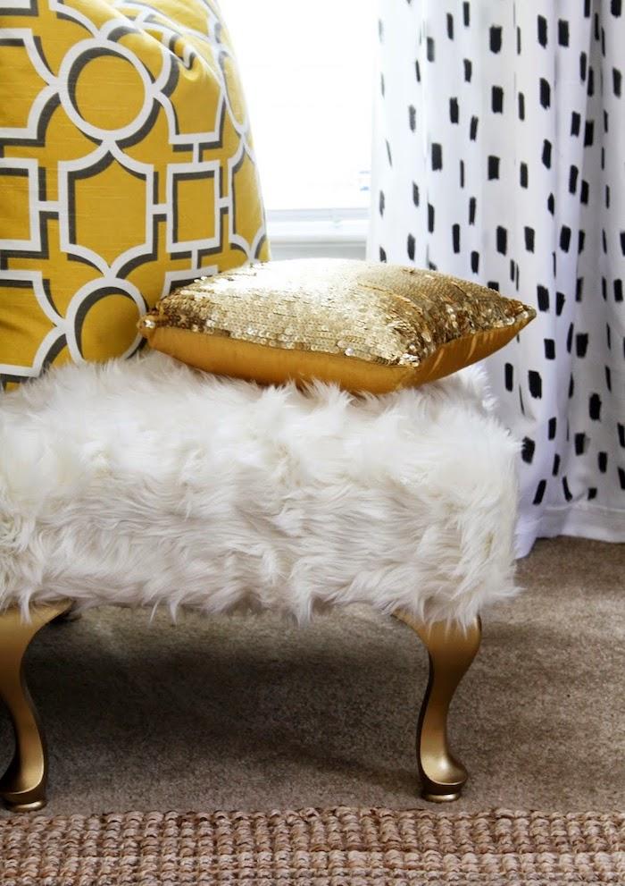 Искусственный мех и мебель