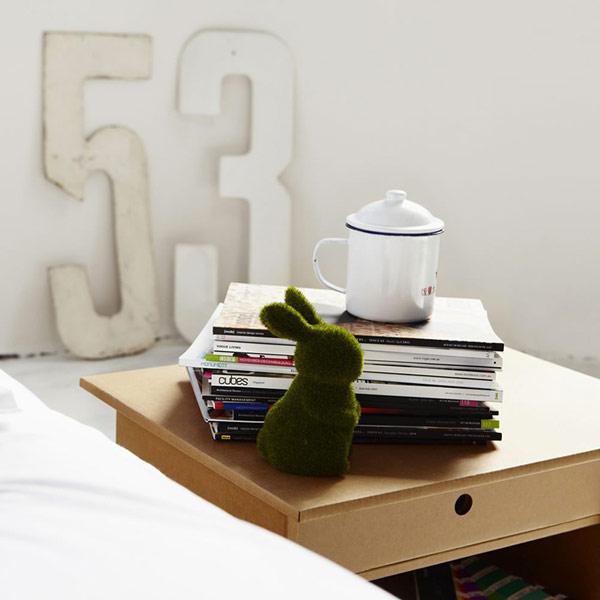 Мебель из картона - легкий интерьер