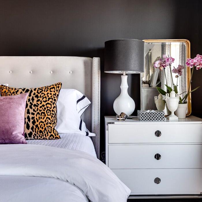 25 Спален в стиле Moody, которые впечатляют и вдохновляют