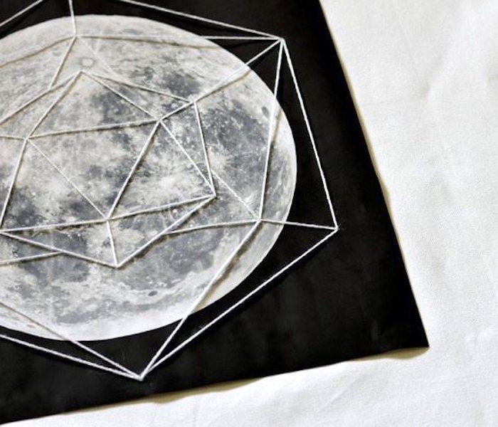 Идеи Лунного мотива в интерьере