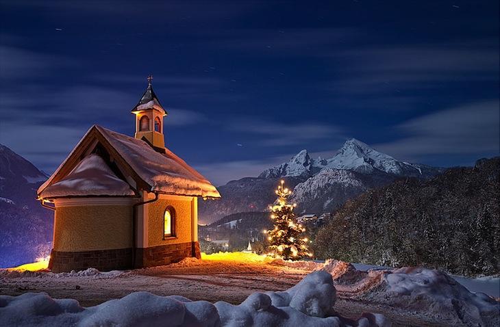 20 Великолепных зимних пейзажей