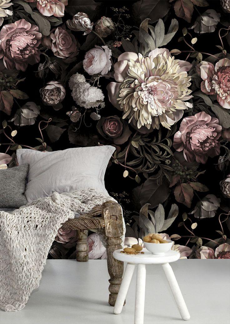 Обои с цветочным мотивом. 35 Идей