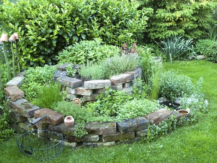 22 Способа повторно использовать старые кирпичи в саду