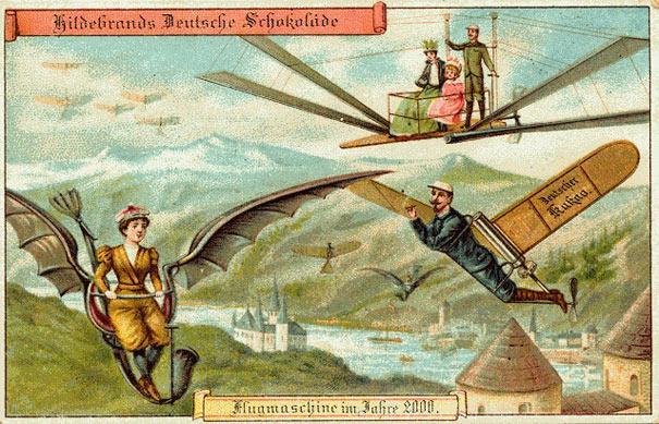 Прогнозирование будущего в 1900 году
