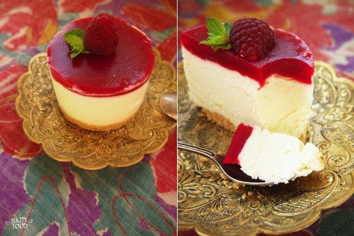 Рецепт пирожного с малиновым желе
