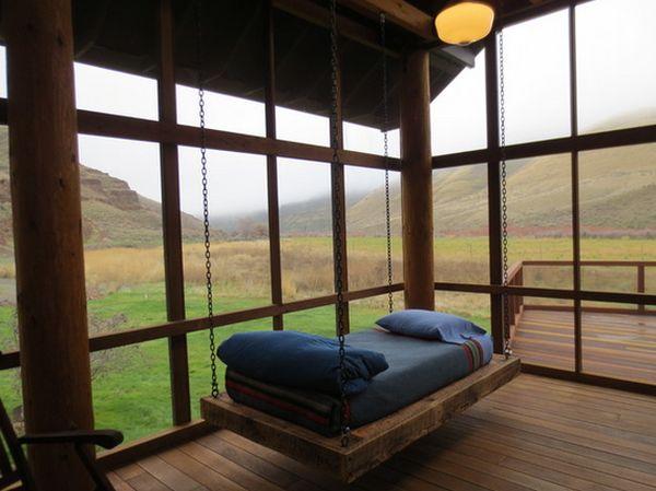 Подвесные кровати. ТОП 40