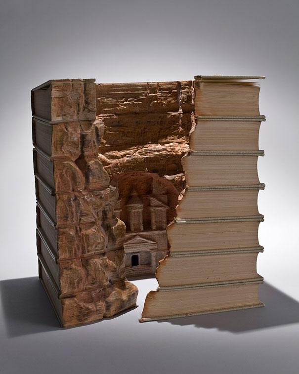 Резные пейзажи из книг