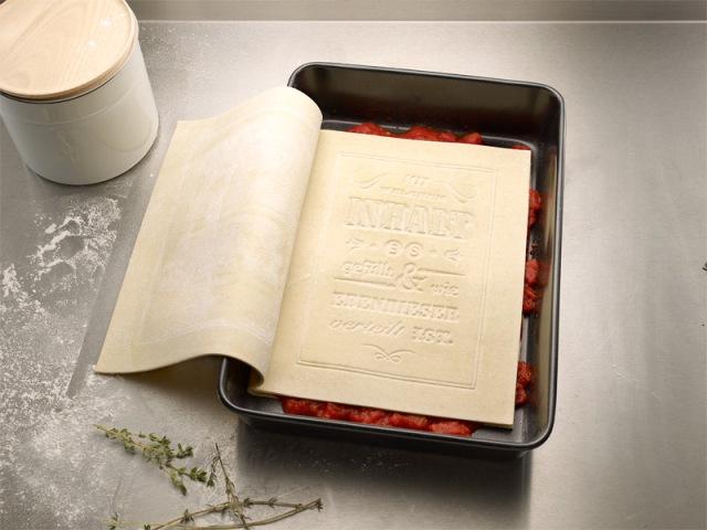 Съедобная кулинарная книга