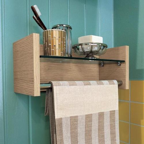 Организация вещей в небольшой ванной комнате. 31 Идея