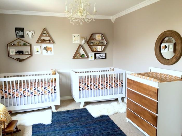 22 Идеи современных детских комнат