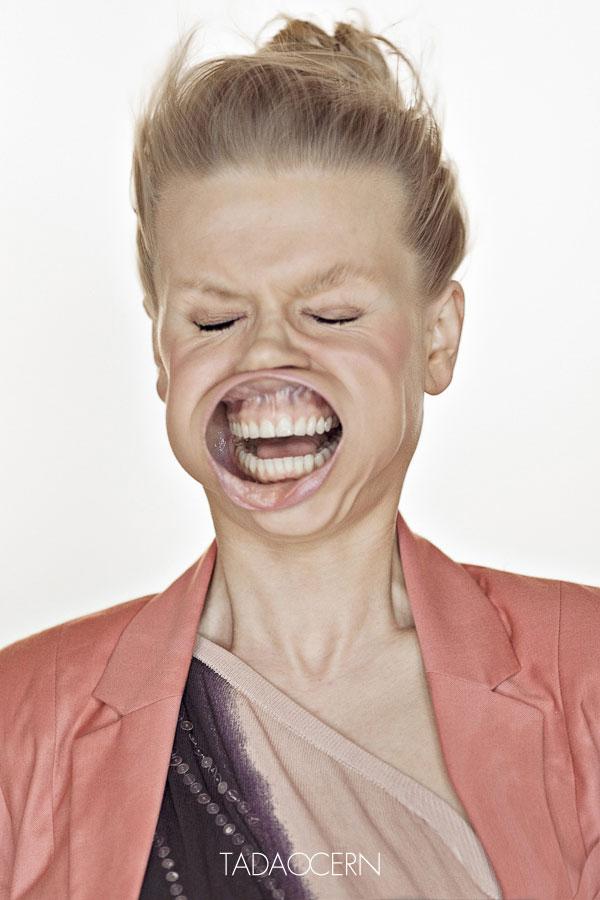 Сумасшедший портреты людей