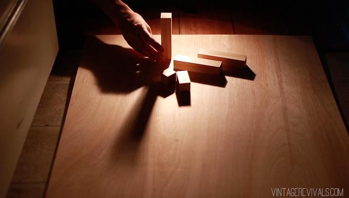 Как сделать картину со скользящей тенью