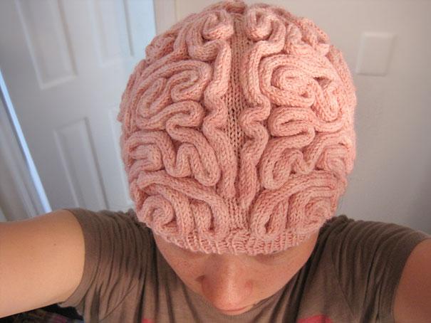 Вязаная шапочка - Мозг