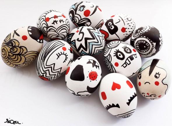 Великолепные пасхальные яйца
