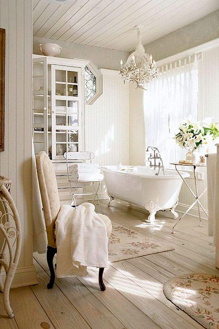 23 Элегантные идеи винтажной ванной комнаты