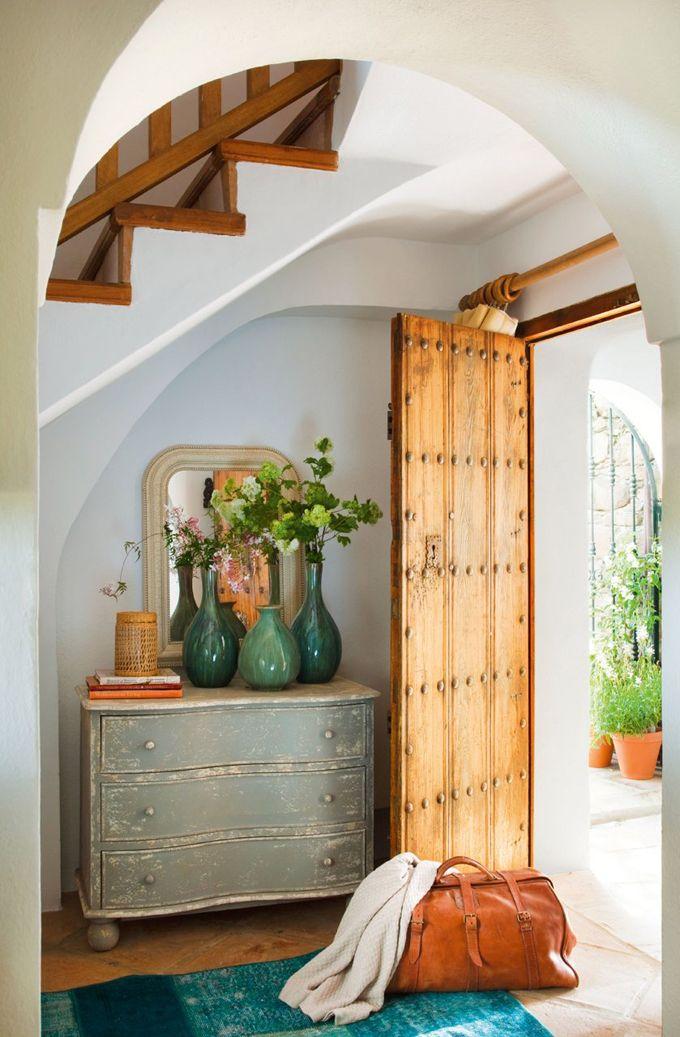 26 Винтажных дверей в современных интерьерах
