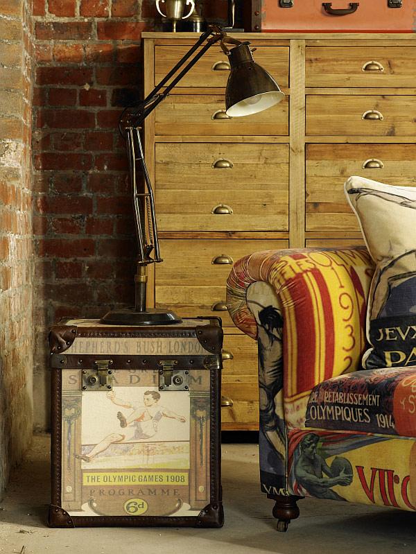 Оригинальный винтажный интерьер