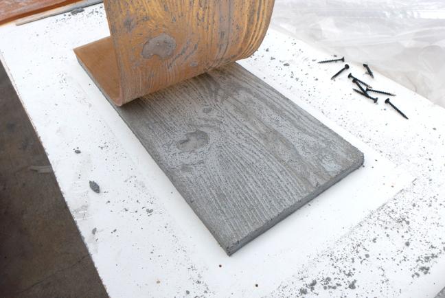 Как сделать структурированнау плитку под дерево