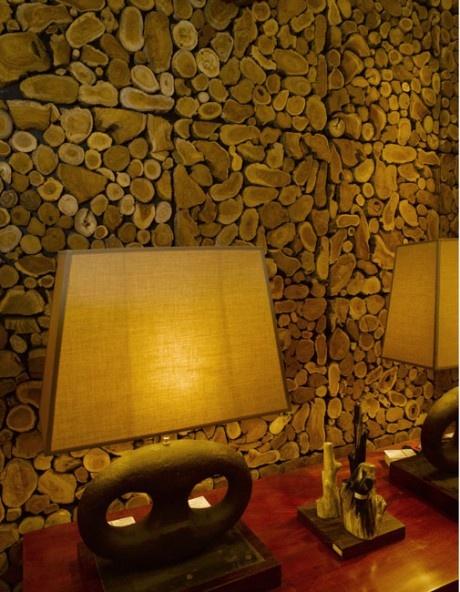 Отделка стен с помощью древесины. 29 Идей