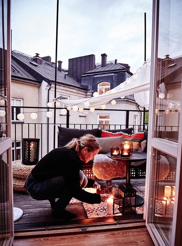25 Идей зимнего декора балконов и террас, которые становятся еще прекраснее с приходом зимы