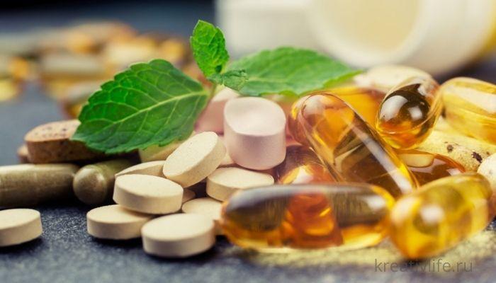 Таблетки и добавки