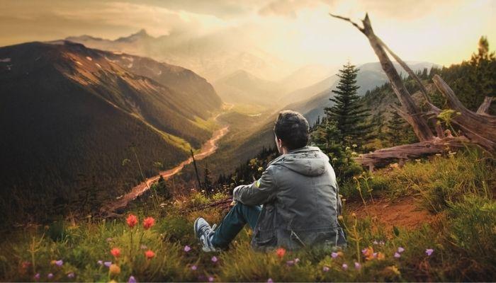 Медитация на природе, спокойствие и умиротворение